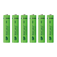 x6 AAA Rechargeable Batteries (650mAh)